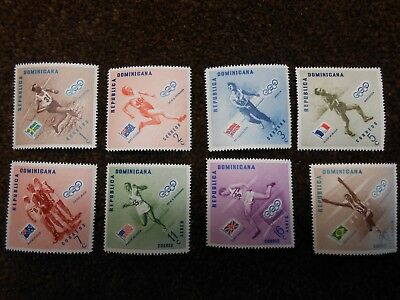 Dominican Republic Stamps 1958