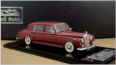 1/43 Rolls Royce Phantom V Limousine by Park Ward 1962 Chassis 5LCG23 (Red)
