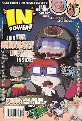 In Power! Magazine Jan #9 The Rugrats In Paris - The Movie
