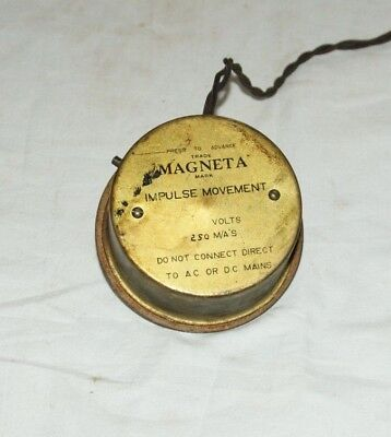 MAGNETA  Impulse Clock Movement, Spares/Repairs