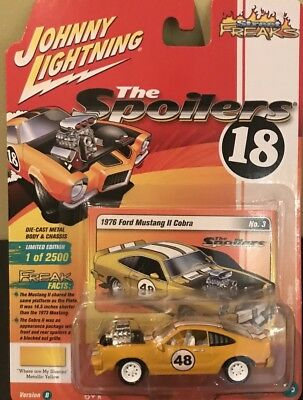 JOHNNY LIGHTNING 1976 Ford MUSTANG II Cobra No. 3