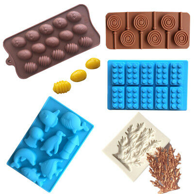 Various DIY Silicone Cake Decorating Moulds Candy Cookies Chocolate Baking Mold