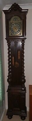 Antique German Long-case Grandfather Clock by Friedrich Mauthe Schwenningen