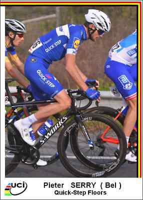 Carte Cyclisme 2018   9 cartes  Quick-Step Floors ( 19 ) carta ciclismo