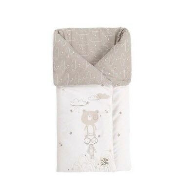 JANE Sac Universelle Transformable en couverture Beige et Gris