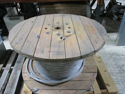Encore Wire Corp 1/0 AWG 3 Conductor Wire W/ Ground AA-8000 Length:Approx 2983Ft