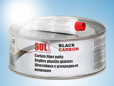 SOLL CARBON highly strong putty for large dents trailers trucks 1kg/35.27oz