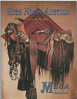 High Noon Western America 13th Annual Auction Catalog