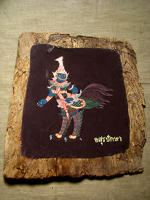 """Recycle Art of  30 Thai Paint """"Himmapan Creatures"""" Beautiful & Rare Don't Miss!*"""