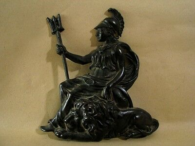 Beautiful Old Very Rare Antique Bronze Athena Hard to Find Please see 5 Photo*