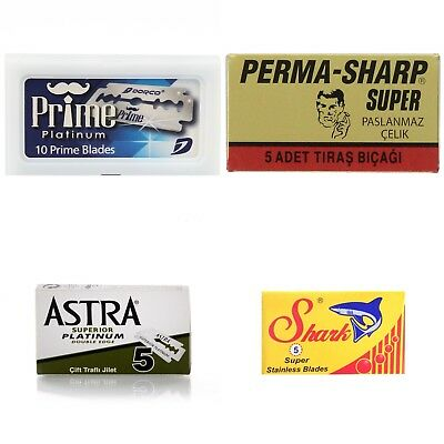 Double Edge Safety Razor Blades Sampler Pack-Pack Of 40 Blades / SAME DAY POST