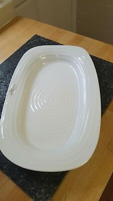 Sophie conran portmeirion white sandwich tray new and boxed