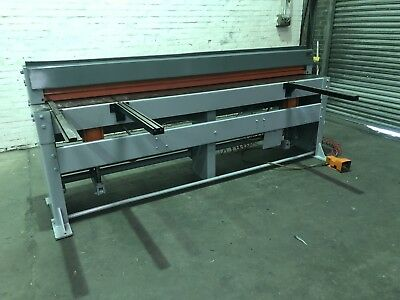 FJ Edwards Air Operated Sheet Metal Guillotine