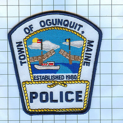 Police Patch - Maine - Town of Ogunquit ME