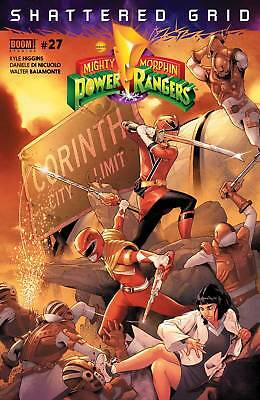 MIGHTY MORPHIN POWER RANGERS #27 Standard Boom ! Studios Comics NM 2018