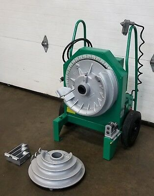 "Greenlee 555 Electric Pipe Bender 1/2 - 2"" Inch Works Great 👍"