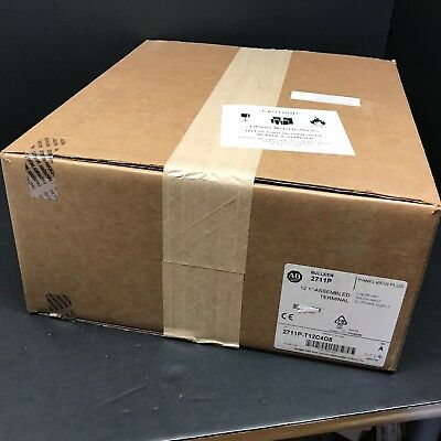 2018 New Sealed Allen Bradley 2711P-T12C4D8 PanelView Plus 1250 512MB Touch HMI