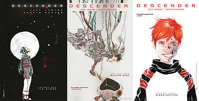 IMAGE - DESCENDER TPB 1-3 Set JEFF LEMIRE + DUSTIN NGUYEN !