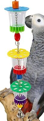 1646 Cheers Bird Toy parrot cage toys cages foraging african grey amazon conure