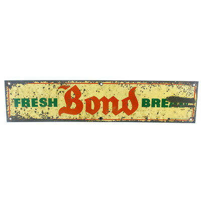Vintage Fresh Bond Bread Door Sign