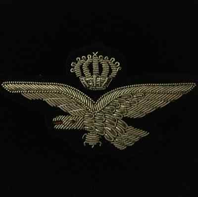 ITALIAN WINGS - WWI - GOLD BULLION WINGS Finest Quality Reproduction.