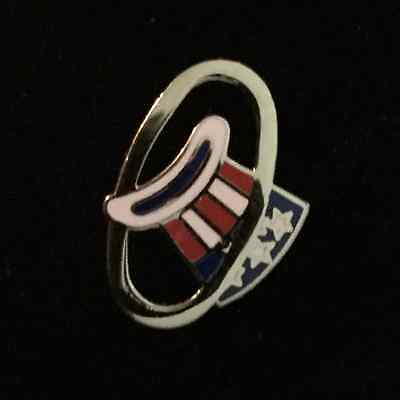 94TH AERO PURSUIT SQUADRON WWI - HAT-IN-THE-RING Cloisonne Pin