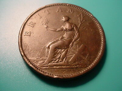 British 1806 1 Penny In Very Nice Condition