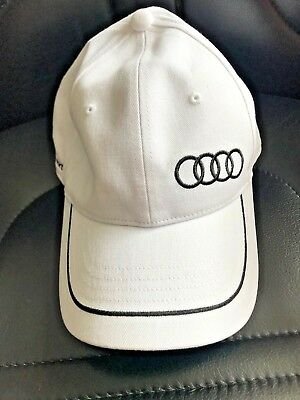 Audi Hat Baseball ,Golf, Hat White and black