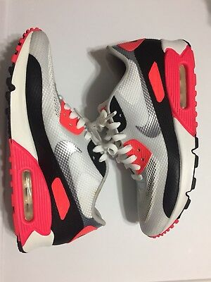 NIKE AIR MAX 90 NRG Hyperfuse QS Infrared 2012 size 8.5 548747 106 Pre Owned