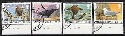 Montserrat Sg1029/32 1996 Scavengers Of The Sky Fine Used