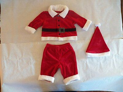 Cherokee Baby Santa Outfit (Size 0-3 Months)