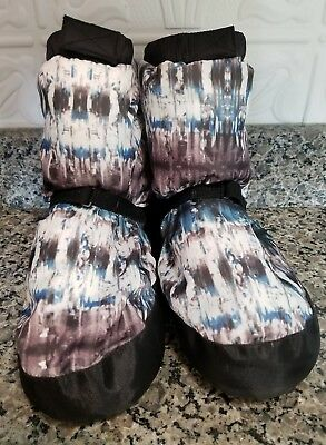 Lima & Max Bloch Ballet warm up boots booties Multi-colored women's size Medium