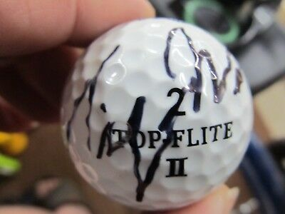 b99b62cd680 TIGER WOODS AUTOGRAPHED SIGNED Top Flite Buick Open GOLF BALL ...