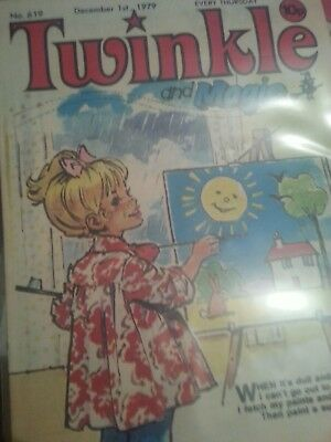 Twinkle Comic for Little Girls with Magic No.619 December 1st 1979.