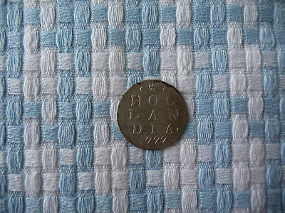 Holland 2 Stuivers 1777 ( Double Wappenstuiver )