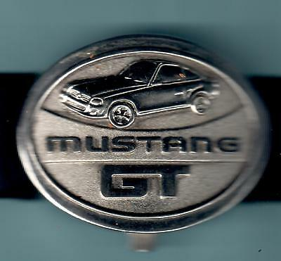 Officially Licensed Ford Mustang GT Wrist Watch with Capped Lid - Quartz RARE