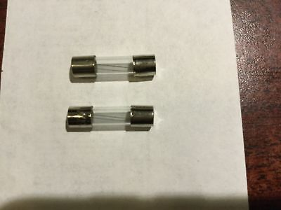 2 x 5A Amp 250V 5000mA 5x20mm Quick Fast Blow Glass Tube Fuse RoHS US Stock