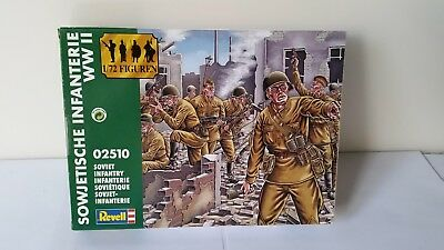 Revell 02510 Sowjetische Infanterie Russian Infantry Soldiers WWII 1:72 Red Army