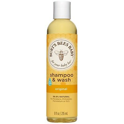 Burt's Bees Baby Shampoo & Wash, Original Tear Free Baby Soap - 235 ml