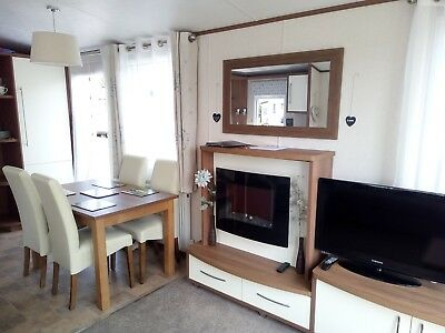 caravan for holiday let lovely peaceful park cenarth falls west wales.