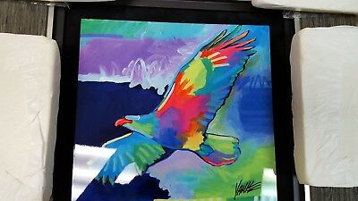 """""""Four Winds Lone Eagle"""" By Tim Yanke Artist proof 61/130"""