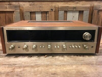 Vintage Pioneer SX-727 Stereo Receiver - Great condition!
