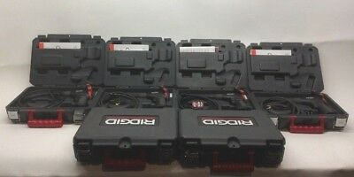 As Is Lot Of 6 Ridgid 40043 Micro Ca-25 Handheld Inspection Camera Kit Parts