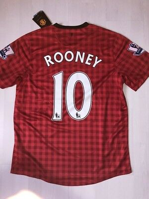 COLLECTOR 2012/2013 TRIKOT MANCHESTER UNITED ROONEY Gr. M