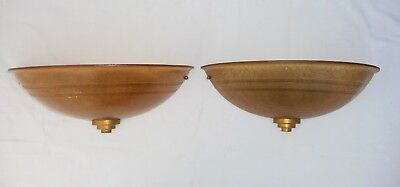 Art Deco Wall Lights - pair