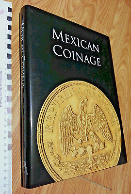 MEXICAN COINAGE by BANCO DE MEXICO Numismatic Money Book SILVER COB Peso COIN