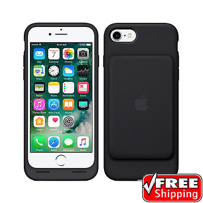 NEW Original Genuine Apple iPhone 7 Smart Battery Charging Case Black MN002LL/A