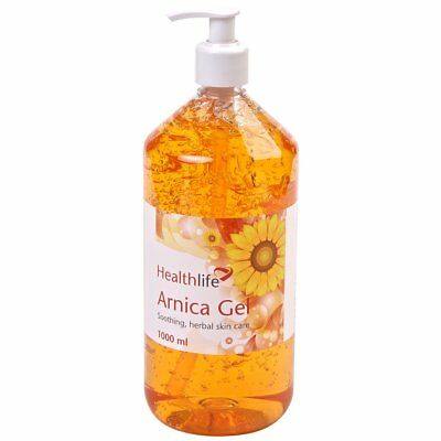 1 Litre Arnica Gel, Natural Herbal Muscle Relaxation, Pains & Aches remedy