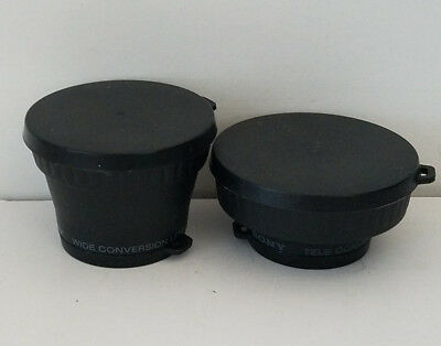 Sony VCL-1437A and VCL-0637A Tele Conversion/WIDE Lens
