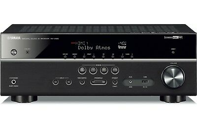 New Yamaha RX-V585BL 7.2 Channel Bluetooth®, MusicCast, and Dolby Atmos RX-V585